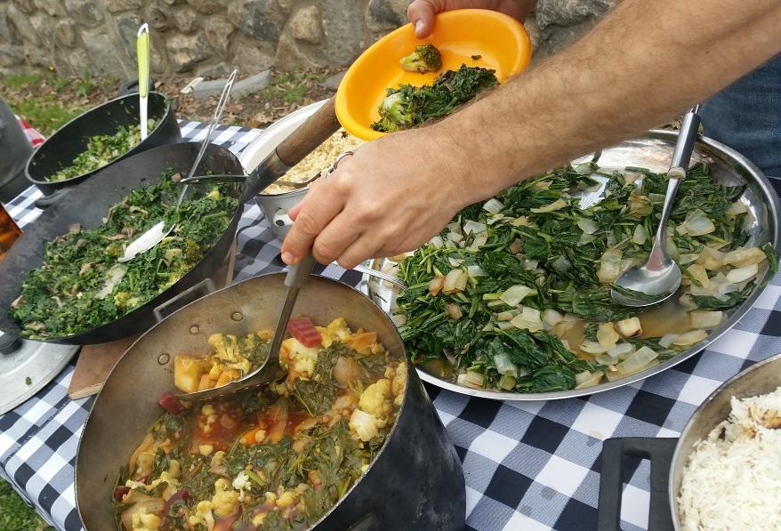 ארוחה מלוקטת באירוע פרטי