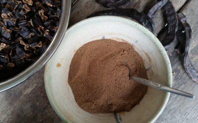 האבקה המתוקה – איך להכין קקאו חרובים